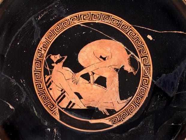 Гръцка червенофигурна керамика