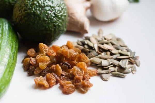 алкални храни - семена, ядки