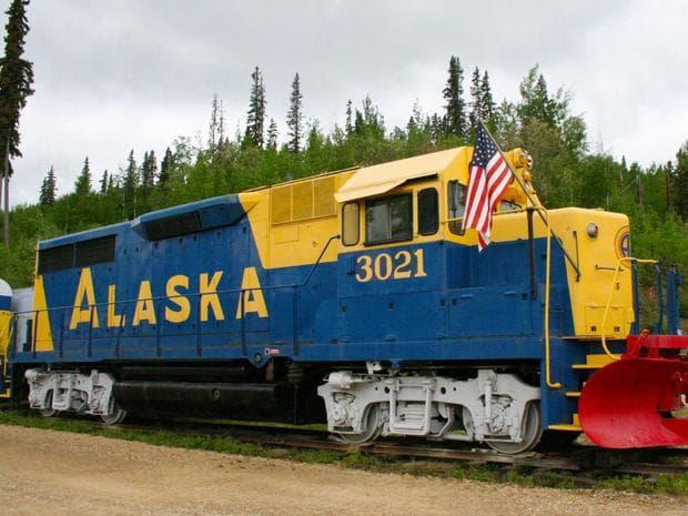 Хотел-железница в Аляска