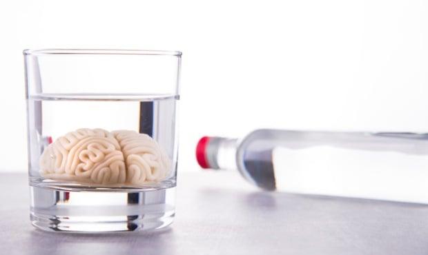 Ефект на алкохола върху мозъка