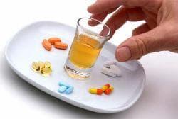 Алкохол и аналгетици