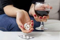 Алкохол и антидепресанти