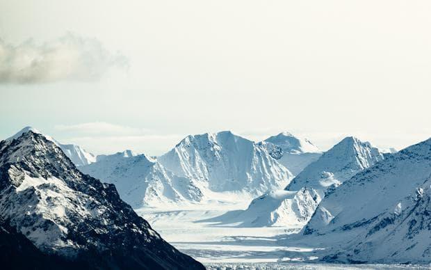 Снежните върхове на Аляска