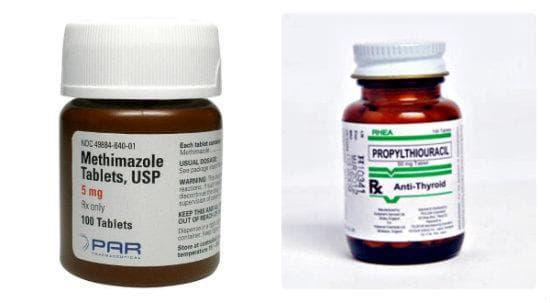 Антитиреоидни препарати