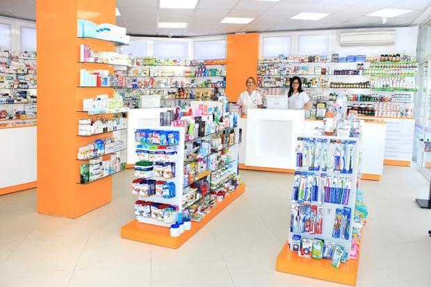 интериор на аптека фрамар 23