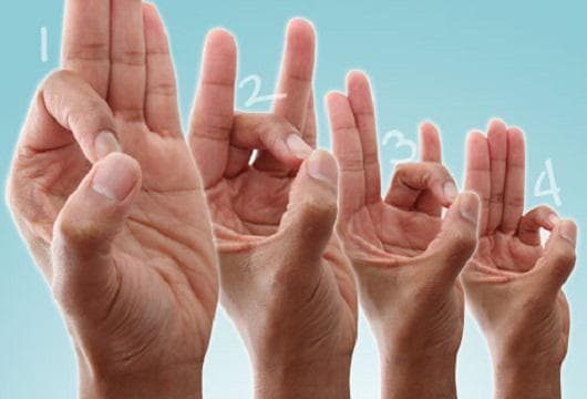 Докосване с палеца