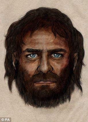 Възстановка на лицето на най-древния синеок мъж, намерен в испания