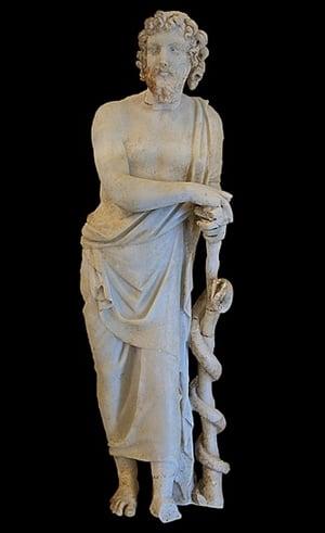 Статуя на Асклепий - Гърция
