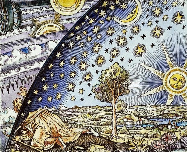 Ренесансова рисунка на Земята