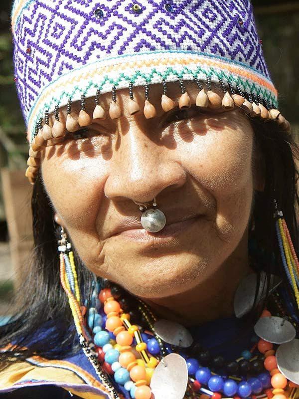 Амазонска индианка