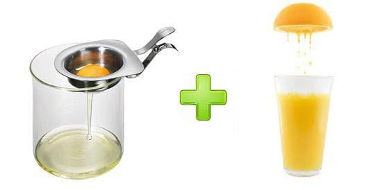 Белтък и лимонов сок
