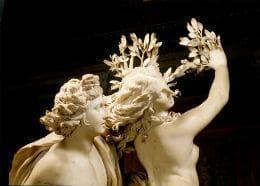 Склуптура Аполон и Дафне от Бернини