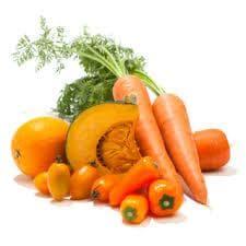 Моркови, тиква, чушки