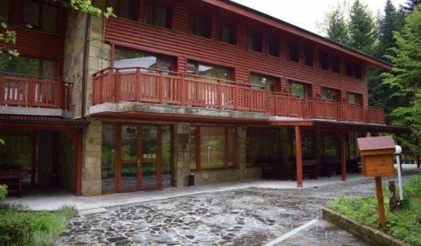 сграда на хотела