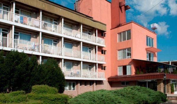 изглед на хотела