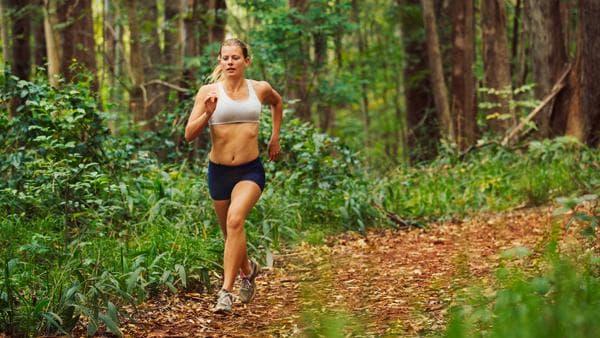 бягане в гората