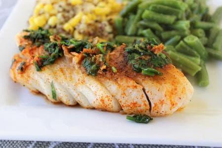 риба с портокал и къри