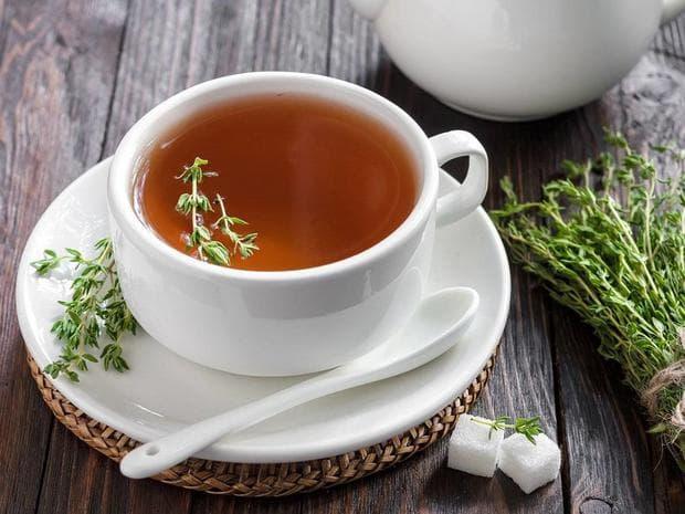 Чаша билков чай