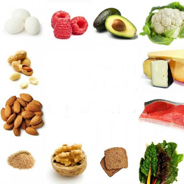 Хранителни източници на витамин Н