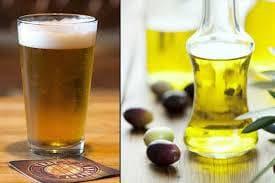 Бира и растително масло
