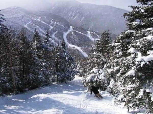Опасни ски курорти - Пистата Блек Хол във Върмонт