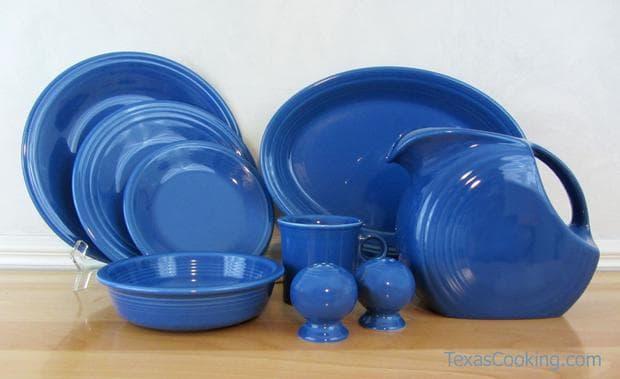 сини чинии