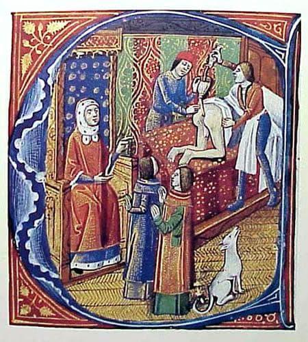 Средновековна клизма
