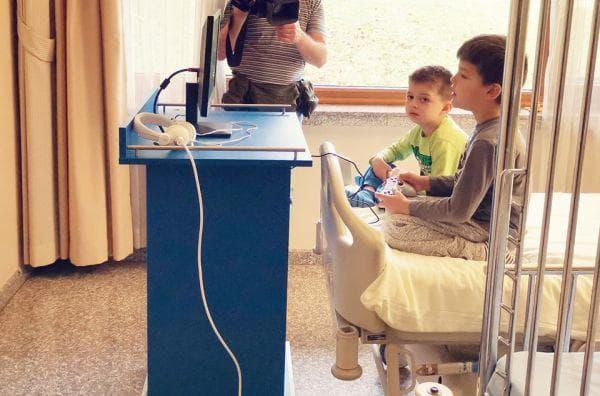 видеоигрите са вече в болница Лозенец