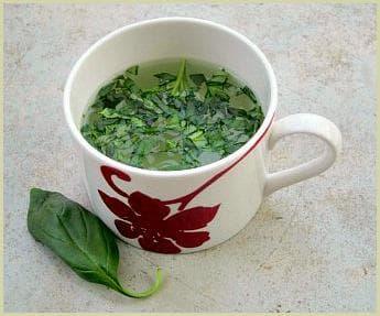 Чай от босилек