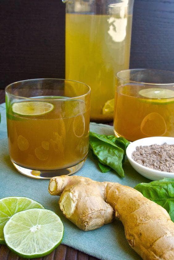 Босилек, мед, лимон и джинджифил