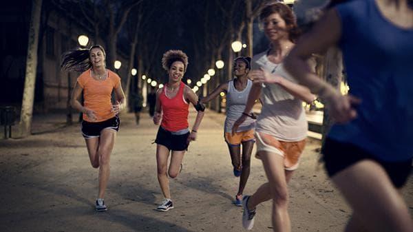 нощно бягане