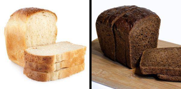 Бял и черен хляб