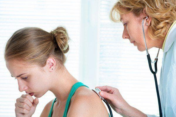 Аускултация на гръден кош при момиче