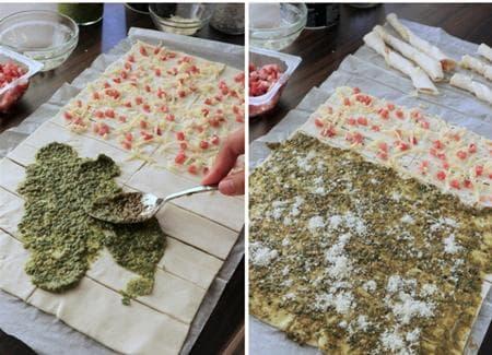 соленки от бутер тесто