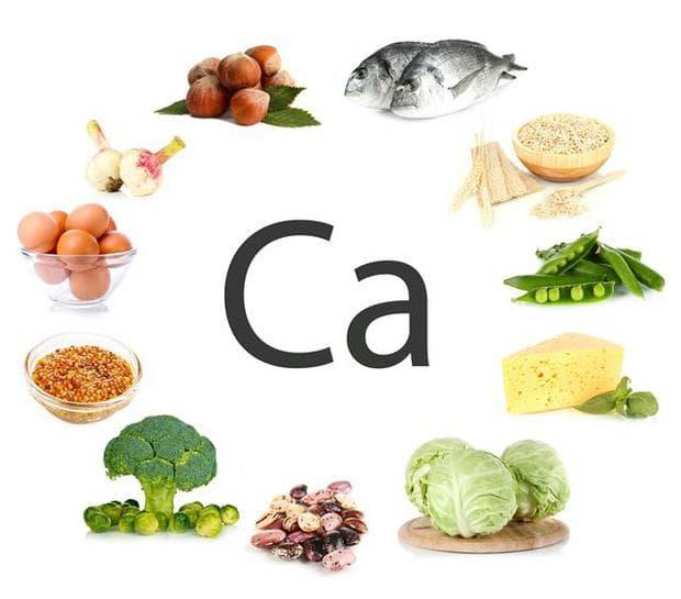 Хранителни източници на калций