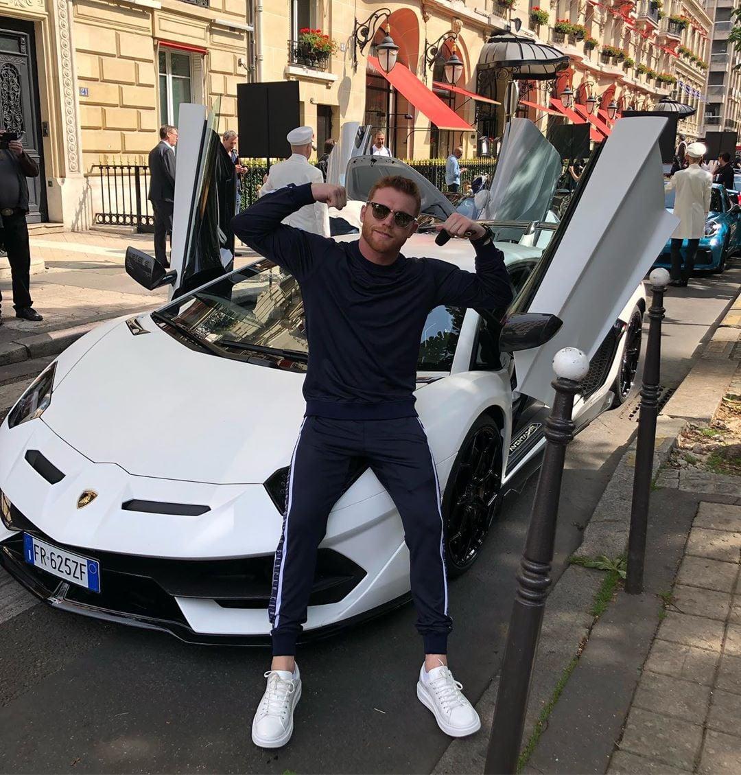 Автомобилите на боксьора Алварес