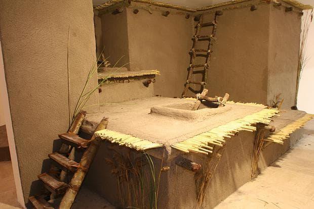 Реконструкция на жилище от Чаталхьоюк
