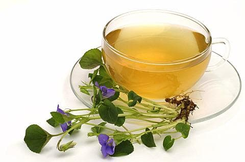 чай от горска теменуга
