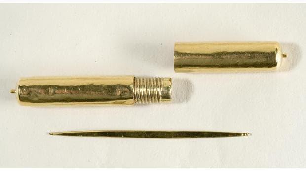 Клечката за зъби на крал Чарлз I
