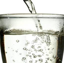 чаша топла вода