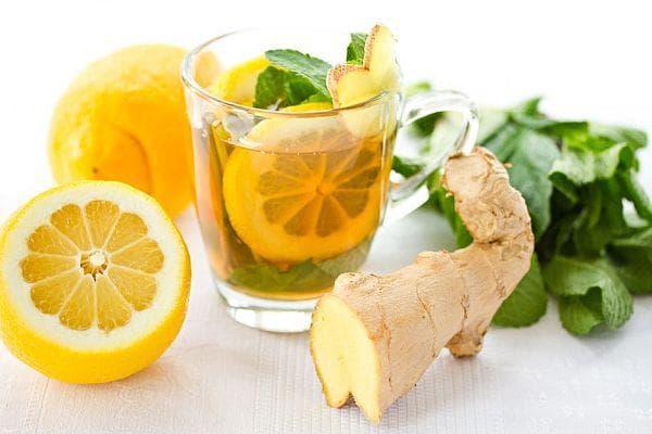 чай от джинджифил с лимон