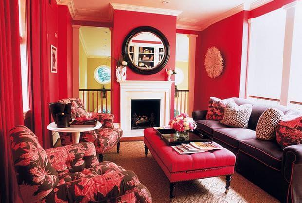 червен хол
