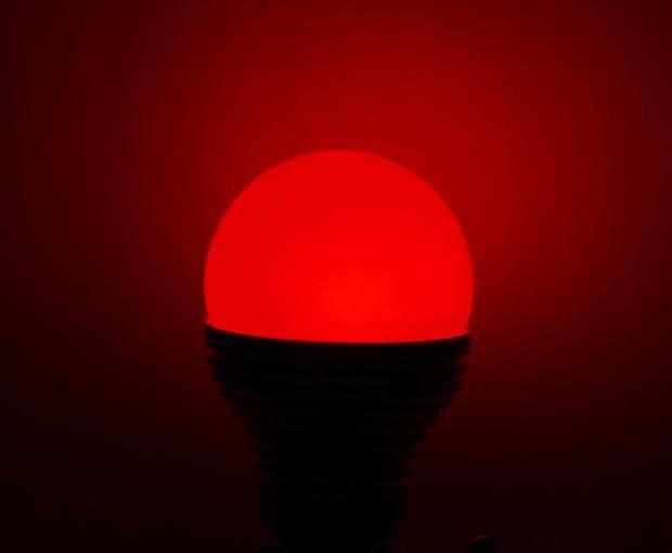 хромотерапия с червен цвят