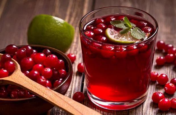 сок червена боровинка