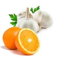 Чесън и портокал