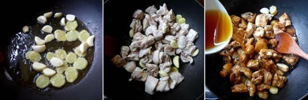 чеснови хапки от пилешко месо с ядки