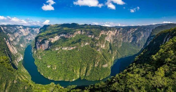 Пейзаж от Чиапас
