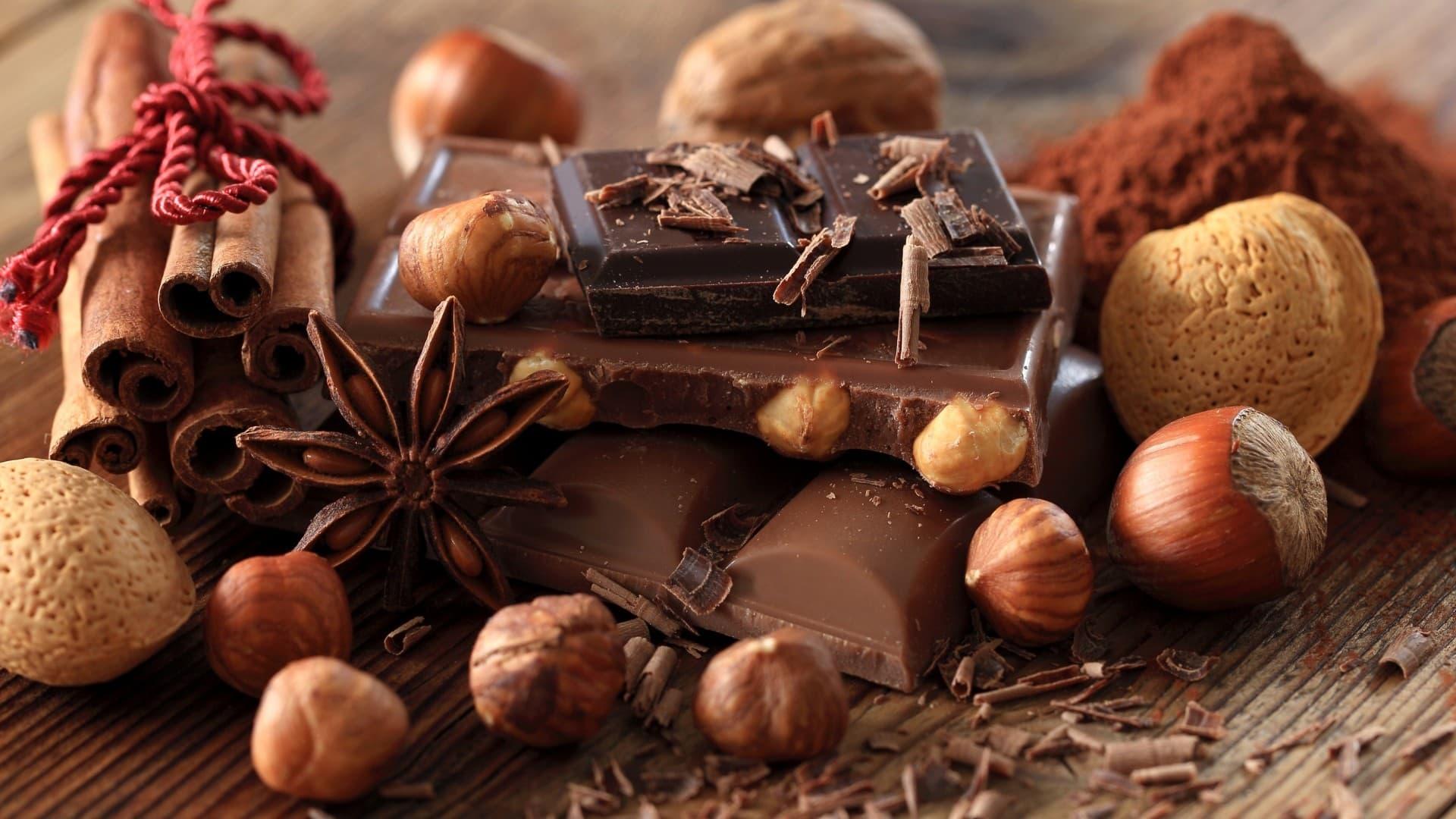 лешник и шоколад