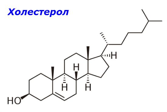 Структура на холестерола