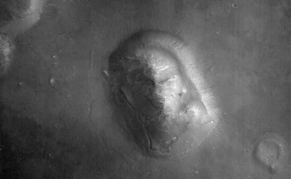 парейдолия, Марс